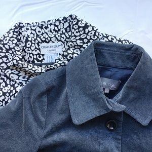Swing Jacket Bundle of 2 (Blue + Leopard Print)